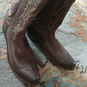 Old West Cowboy Boots Size 9